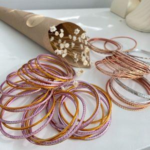 Indian Bangles Bracelets (2 sets)